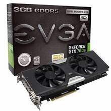 EVGA GeForce GTX 780 Ti Superclocked 3GB ACX Mount Lawley Stirling Area Preview