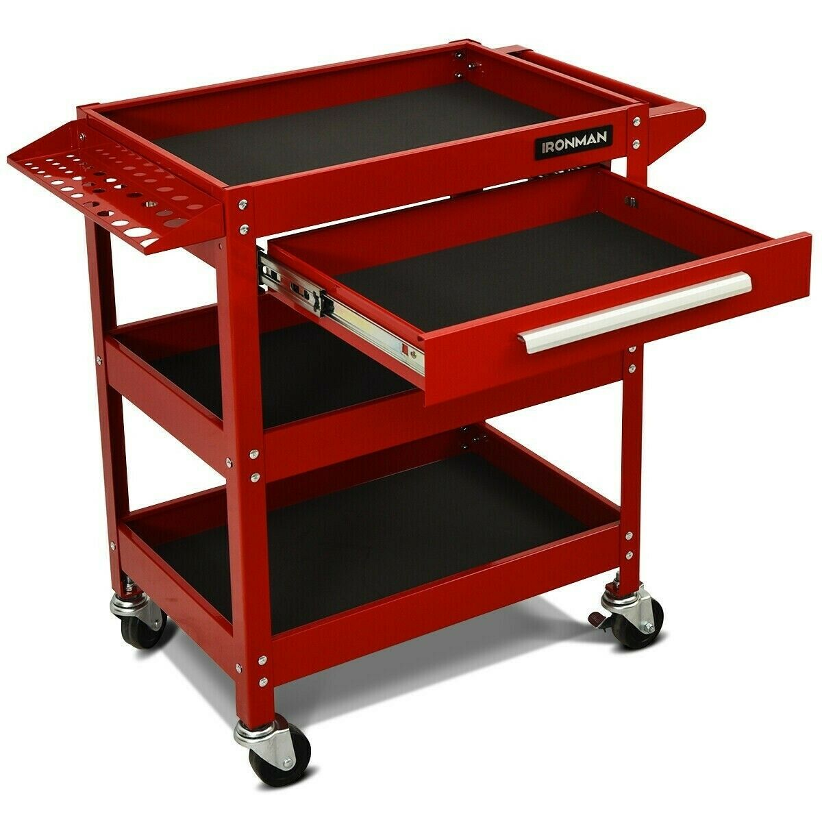 Rolling Tool Cart Mechanic Cabinet Storage Tool Box Organize