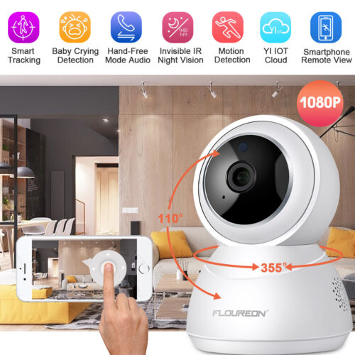 Yi Could Wireless WiFi 1080P Smart Tracking IP Camera Home S