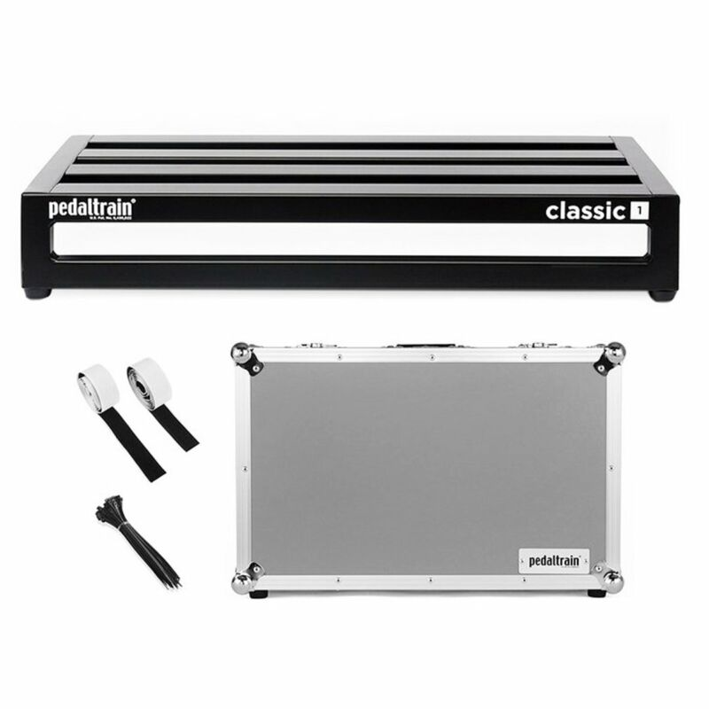 """Pedaltrain PT-CL1-TC CLASSIC 1 Pedalboard With Tour Case 22"""" x 12.5"""""""