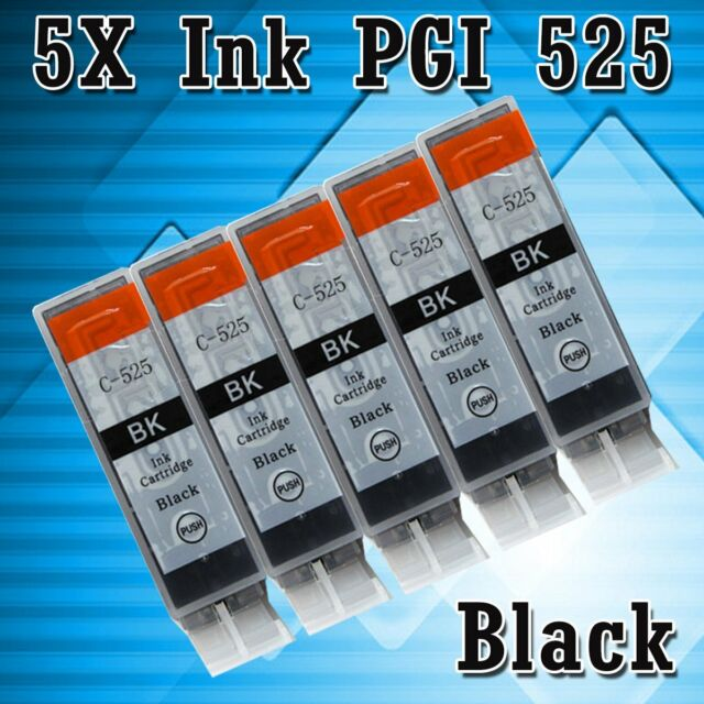 5 Ink Cartridge PGI 525 Black Only for Canon Printer MG6150 MG6250 MG8150 MG8250