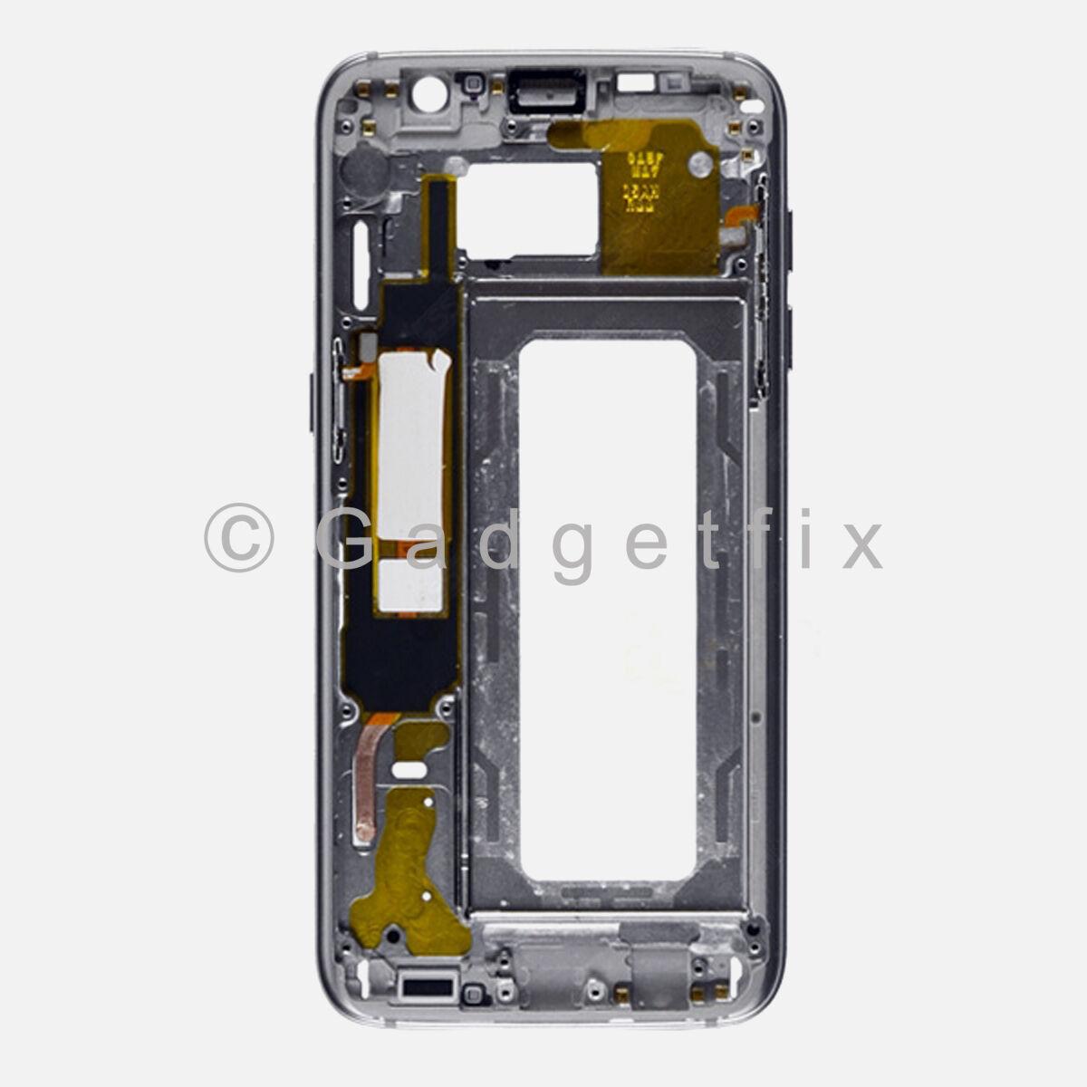 Gold Samsung Galaxy S7 Edge G935r4 G935f Middle Housing F...