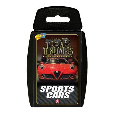 TOP TRUMPS SPORTS CARS CARD GAME BRAND NEW