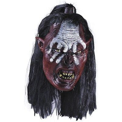 Lurtz Mask Adult Lord of the Rings Uruk Hai Orc LOTR Costume Fancy Dress Acsry (Lord Of The Rings Masks)