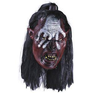 Lurtz Mask Adult Lord of the Rings Uruk Hai Orc LOTR Costume Fancy Dress Acsry