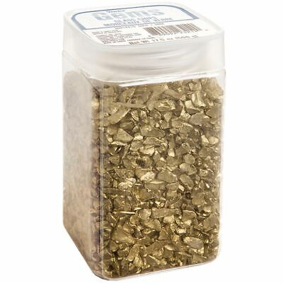 Crushed Glass Vase Filler 500gr-Gold -300148-15 ()