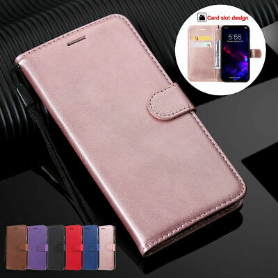 For Apple iPhone 11 Pro Max Xs XR 8 7 6 Wallet Phone Case PU Leather Flip Cover