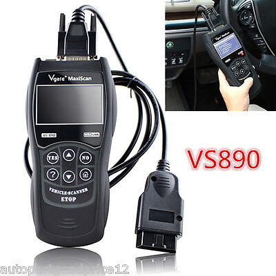 2016 New Vs890 Car Fault Code Reader Obd2 Scanner Diagnostic Tool Multi Language