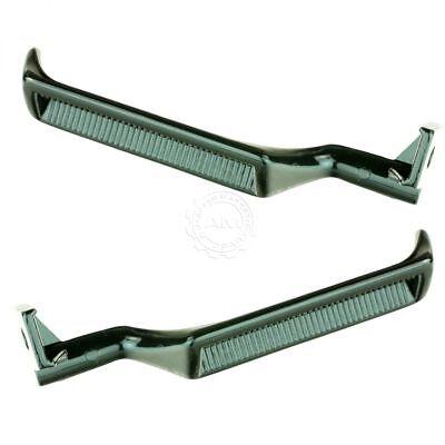 - Door Handle Black Metal Inner Pair Set for Ford Bronco F150 F250 F350 F800 F53