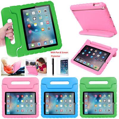 Kids Shock Proof Foam Case Stand Handle Cover For iPad Mini 4 iPad 2 3 4 5 6 9.7