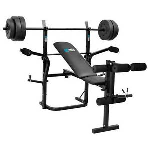 Guy Leech Bench Press (20 KG) and Dumbbells (35 KG) + Pulley Jacana Hume Area Preview
