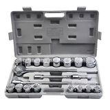 "Goplus 21pcs SAE 3/4"" Drive Socket Set w/ Case Jumbo Ratchet Wrench Extension"