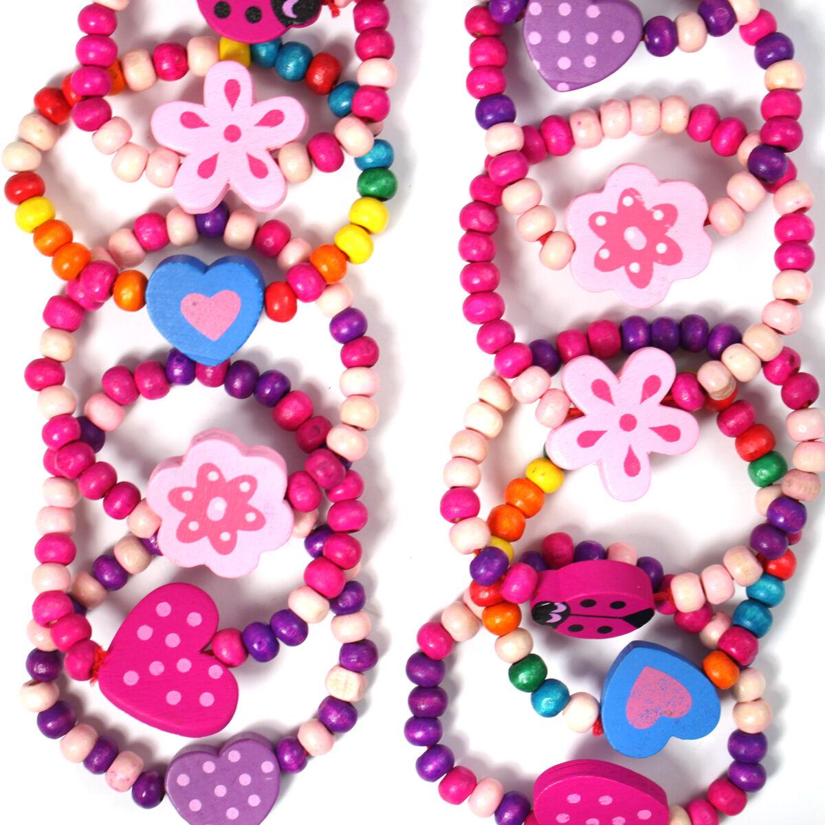 12 Mädchen Rosa Prinzessin Geburtstag Armbänder Mitgebseltüte Füller Geschenk