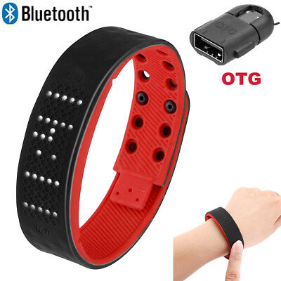 Bluetooth Smart Watch Wristband Bracelet Sport Health Fitness Heart Rage Monitor