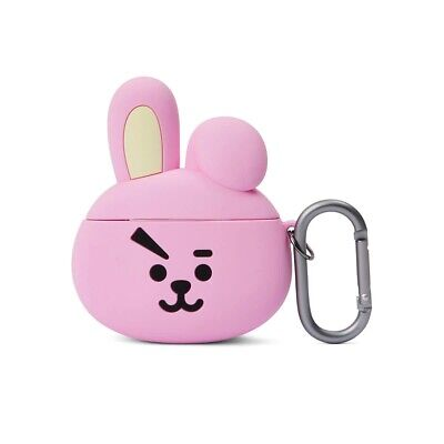 LINE FRIENDS BT21 Basic Case COOKY for AirPods w Keyring Official Goods BTS