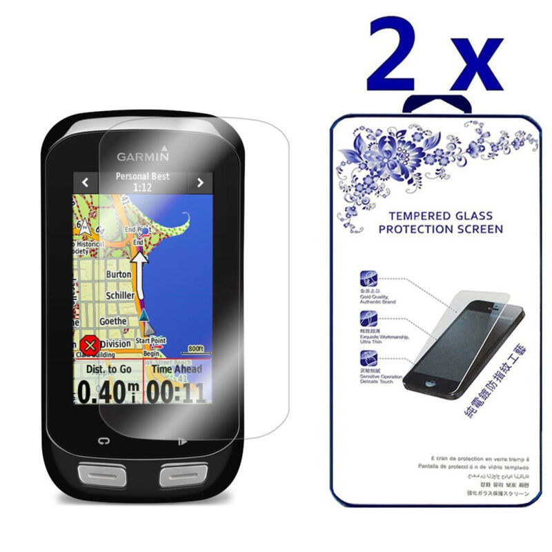 2-Pack For Garmin Edge 1000 Tempered Glass Screen Protector