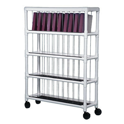 Notebook Chart Rack - Holds 40 Ring Binders 1 (Notebook Chart Rack)
