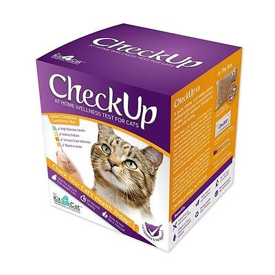 Coastline Global Checkup  At Home Wellness Test For Cats       Brand New