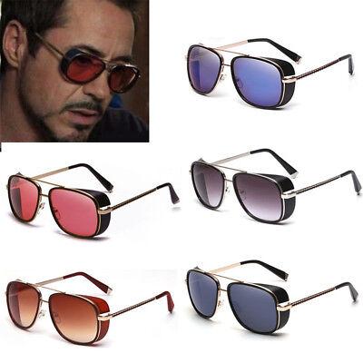 Men's Sunglasses Color lens Robert Downey TONY STARK Personalized Glasses - Sunglasses Personalized