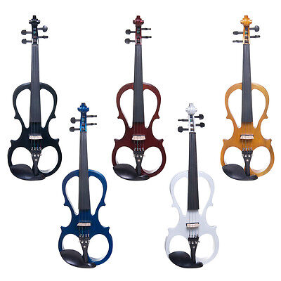 Cecilio Electric Violin Right or Left Handed Size 4/4 3/4 1/2 ~4 Styles 5 Colors on Rummage