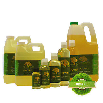 Premium Avocado Oil Pure & Organic Best Quality All Natural Skin Care (Best Organic Avocado Oil)