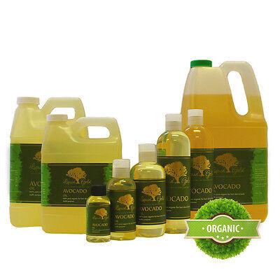 Premium Avocado Oil Pure & Organic Best Quality All Natural Skin Care