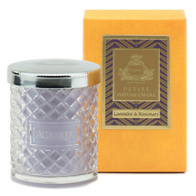 NEW LAVENDER & ROSEMARY AGRARIA SAN FRANCISCO PETITE PERFUME CANDLE 3.4 OUNCES Agraria Balsam Perfume Candle