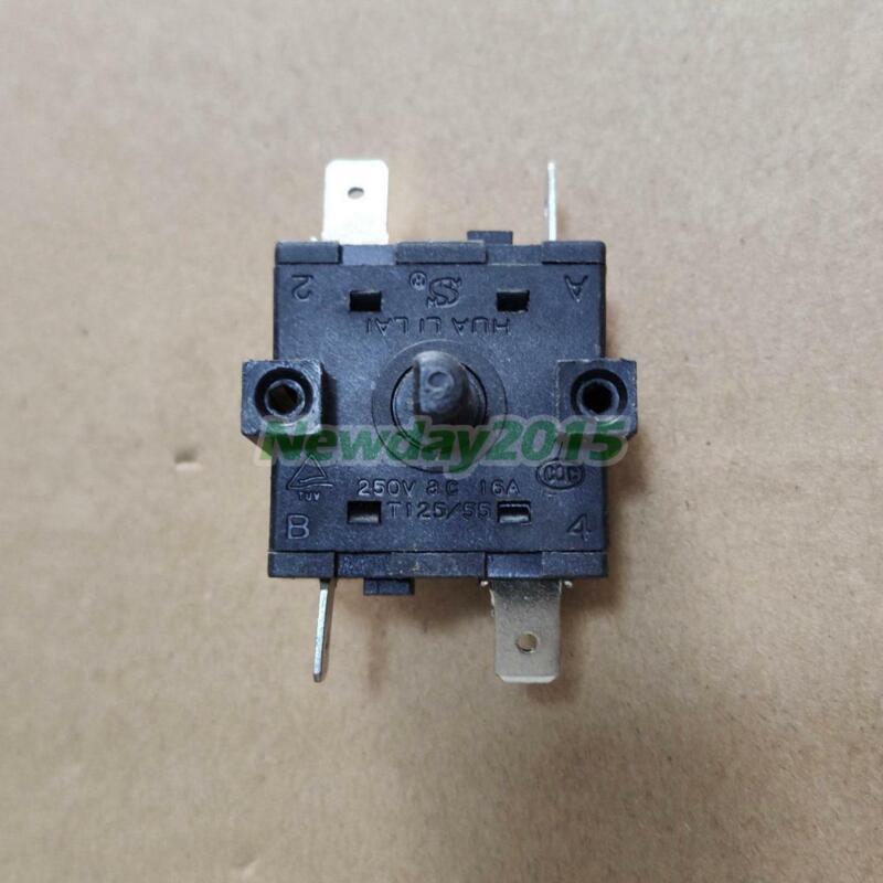 1x HUA LI LAI Rotary Switch FZ31-9 6 Pins 16A 250V / 13A 125V AC T125/55
