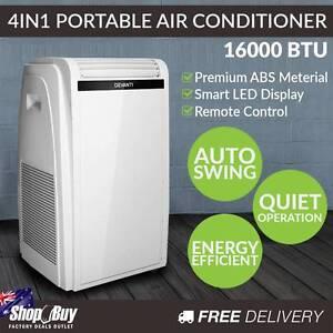 Free Delivery: 4 in 1 Portable Air Conditioner 71L - White Homebush Strathfield Area Preview