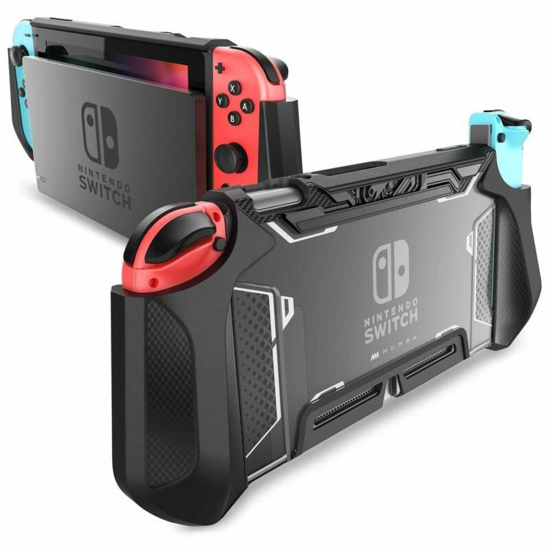 For Nintendo Switch Console Joy-Con Controller, Mumba Grip Protective Cover Case