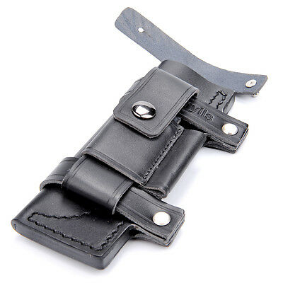 """2019 New Straight Leather Belt Sheath For 7"""" Fixed Knife W/Pouch Knives Sheaths"""