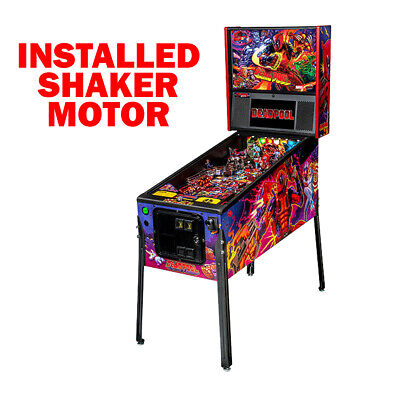 Stern Deadpool Pro Pinball Machine with Shaker