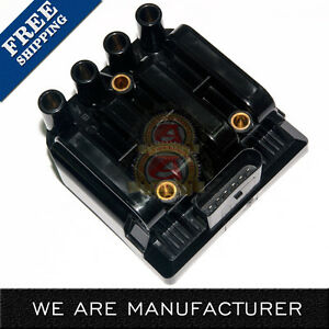 New Ignition Coil on Plug Pack fits VW Jetta Beetle 2.0L L4 UF484 L4 06A905097