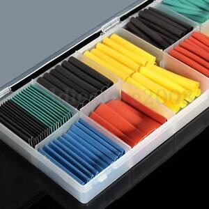 Lot-280pcs-Assortment-2-1-Heat-Shrink-Tubing-Tube-Sleeving-Wrap-5-Color-8-Size