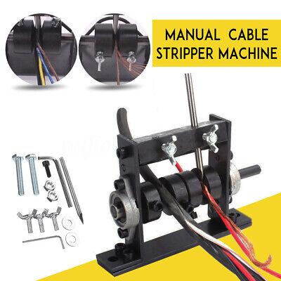 1-30mm Scrap Cable Peeling Stripper Fixture Manual Copper Wire Stripping Machine