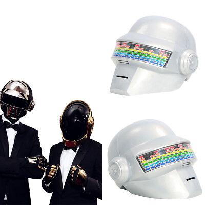 XCOSER Daft Punk Helmet Voice Control Version PVC Thomas Bangalter Full Mask Set for sale  USA