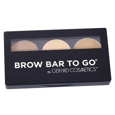 Gerard Cosmetics Brow Bar To Go Kit (Blonde To Brunette) (Brow Bar To Go)