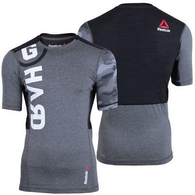 Reebok Herren CrossFit OS PW3R Compression Shirt Trainingsshirt Fitness Running
