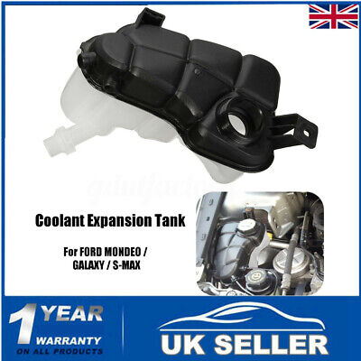 Petrol Radiator Expansion Coolant Header Tank For FORD MONDEO MK4 GALAXY