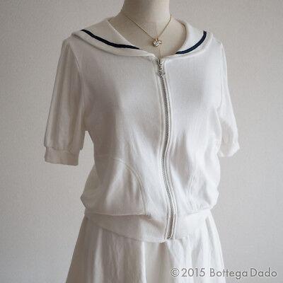 Secret Honey Matching Suit Set Sailor SWEATS TOPS / SKIRTE Hime Lolita 109