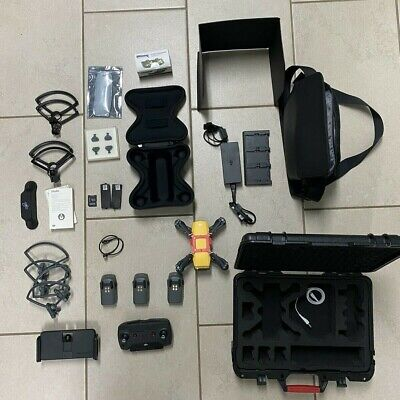 DJI Spark Drone with Fly More Combo (3 cases, 3 batt., many extras)