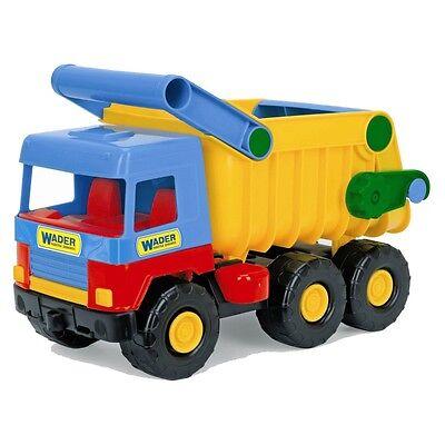 Wader Spielzeug LKW Kipper Funktion Kipplaster Truck Laster Muldenkipper 32051