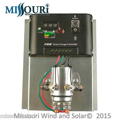 12 Volt 400 Amp 10 000 Watt Charge Controller For Wind Turbine Solar Panel Pv