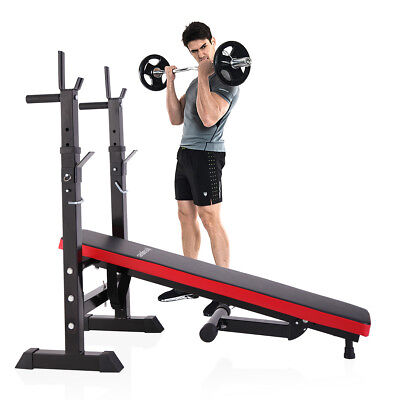 Adjustable Folding Weight Lifting Flat Incline Bench Fitness Workout