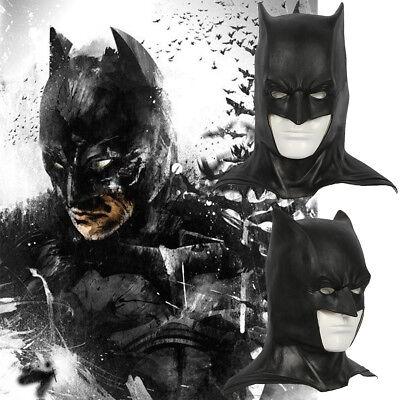 Batman Full Costume (Xcoser Batman Black Full Head Halmet Movie Cosplay Mask Costume Props)