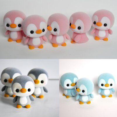 Penguin Keychain (Lovely Mini Penguin Stuffed Animal Soft Toy Doll Pendant Keychain Keyring)