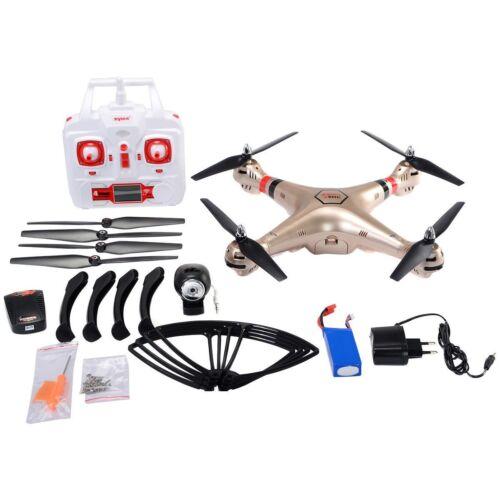 Syma 2.4G X8HC 4CH 6-Axis Gyro RC Quadcopter Drone 2MP HD Camera UAV RTF UFO