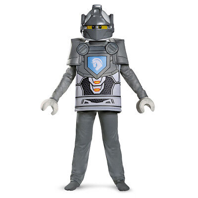 Lego Knight Costume (Lance Deluxe LEGO NEXO Knights Child Costume | Disguise)