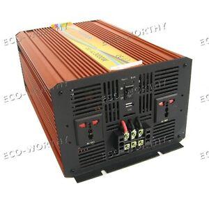 3KW 3000W 12V DC to 220V Pure Sine Wave Off Grid Inverter Converter for RV Boat