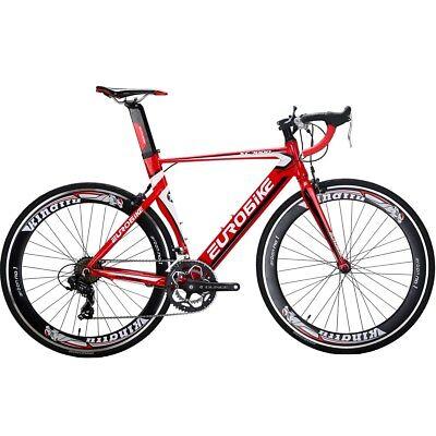 c5b79f7fb82b3 Road bike Aluminium Frame 14 Speed Road Racing Complete bicycle 700C Mens  54CM